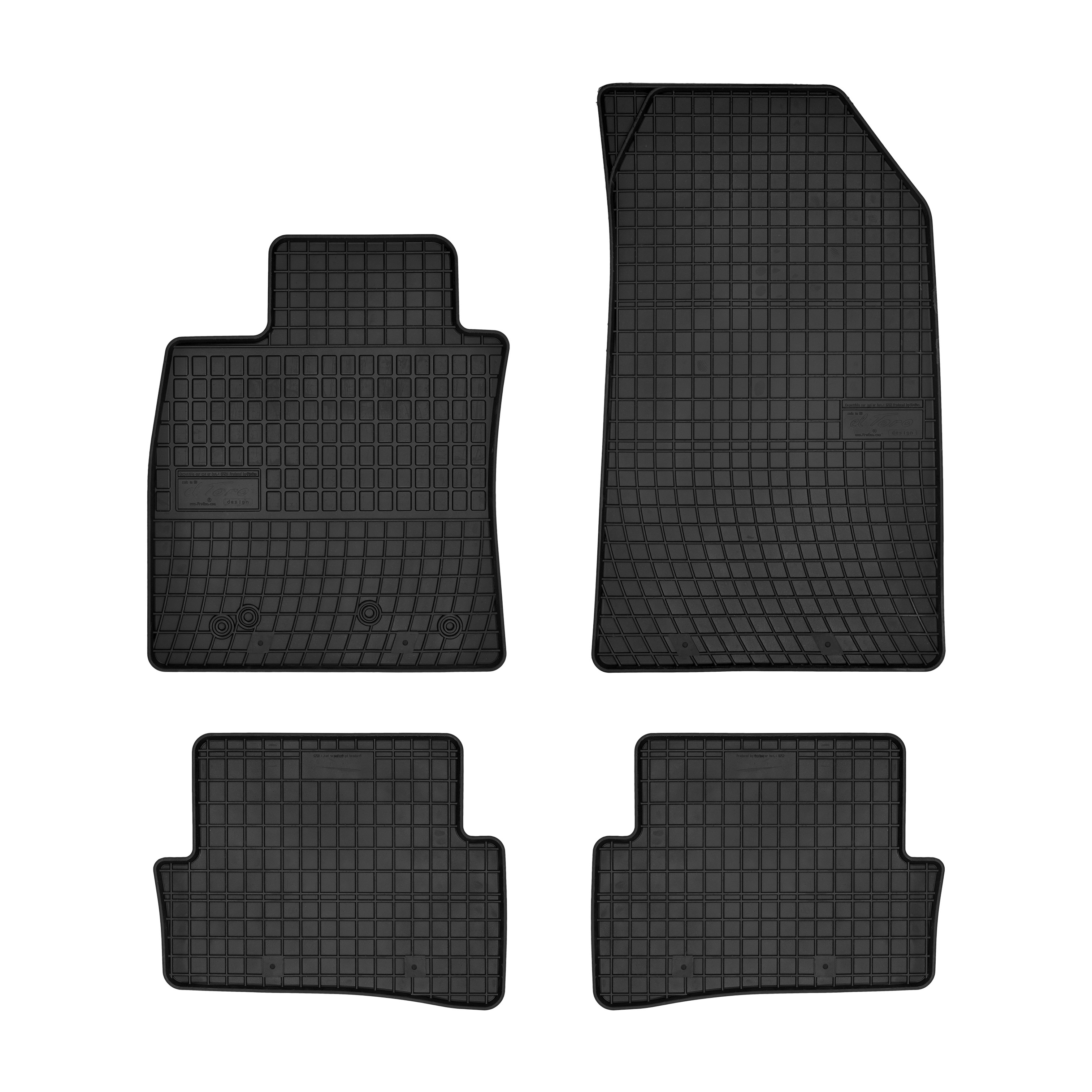 Kofferraumwanne mit Anti-Rutsch für Renault Clio III Generation 3//5Tür